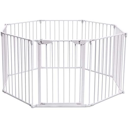 Christmas Tree Gates For Dogs: Amazon.com : Costzon Baby Safety Gate, 4-in-1 Fireplace