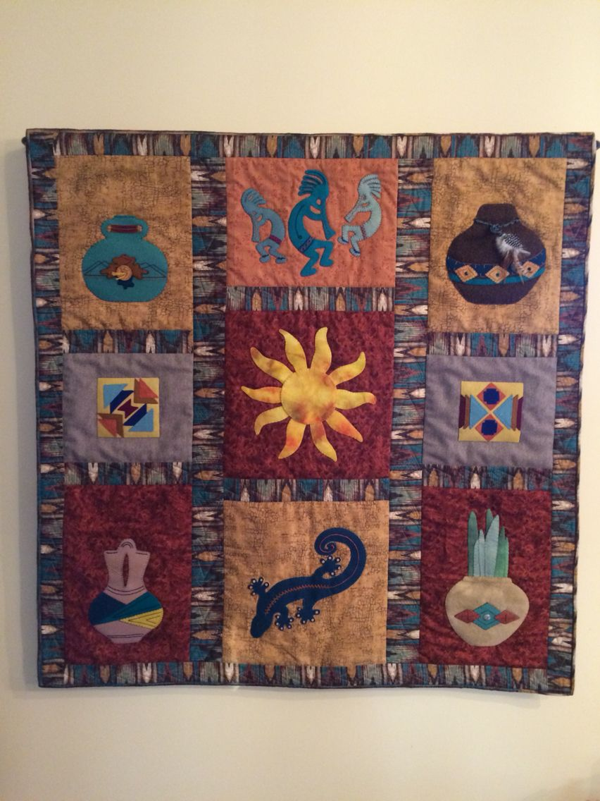 Southwest Inspired Quilt By Bestylou Pattern Company