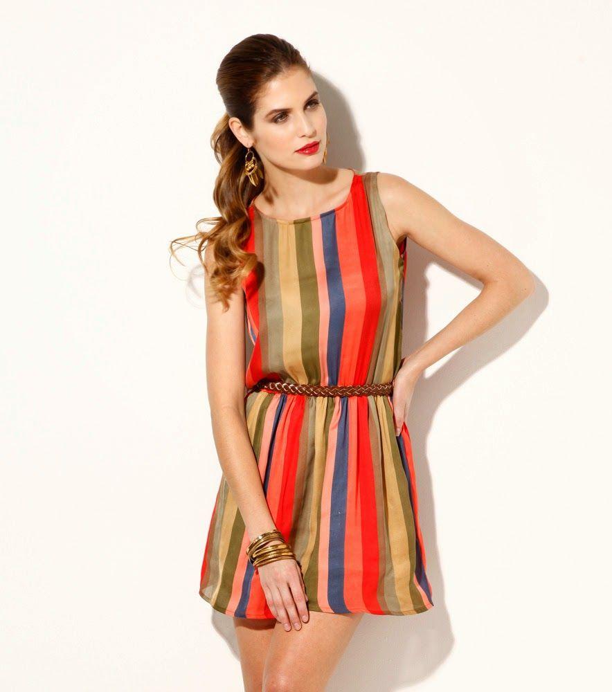 9839b37559eff vestidos cortos ultima moda para el dia adia - Buscar con Google ...