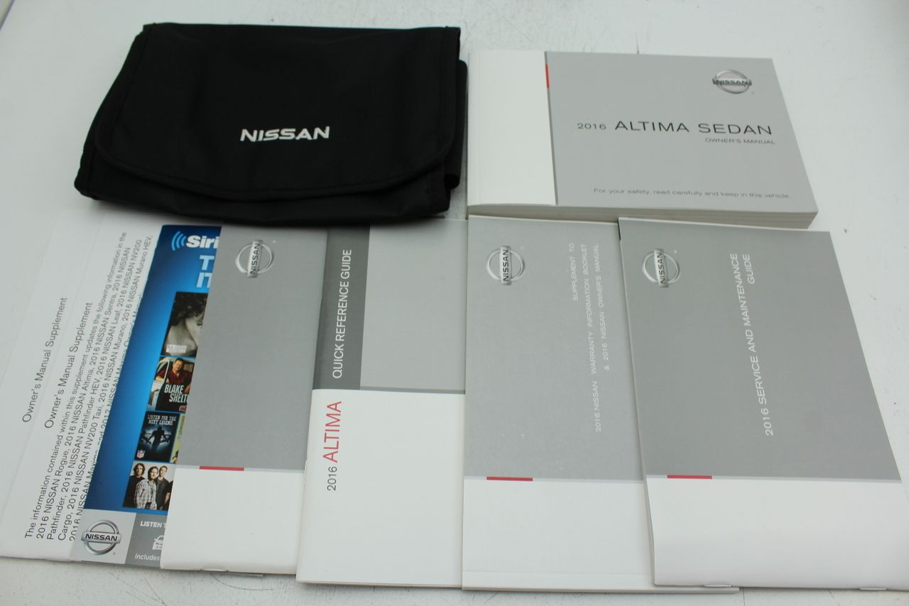 nissan service owner manuals