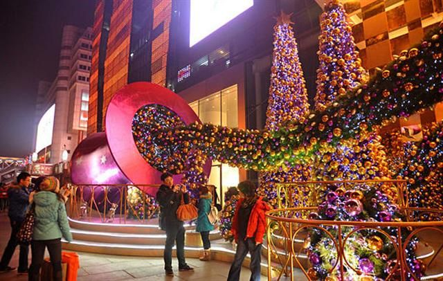 christmas in china christmas in china outside in
