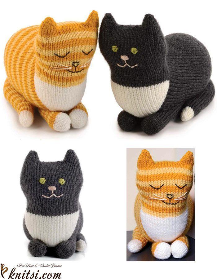 7 Adorable Free Toy Knitting Patterns   Animal knitting ...