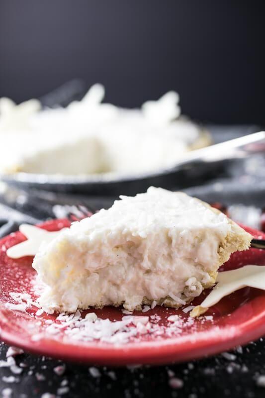 White Christmas Pie.My Grandmother S White Christmas Pie