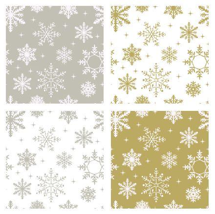 silver and gold seamless snowflake patterns kostenlose grafikelemente pinterest kostenlos. Black Bedroom Furniture Sets. Home Design Ideas