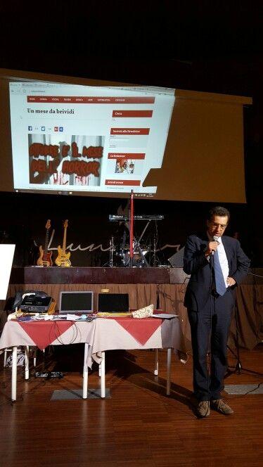 #Assessore alla cultura per aprire la serata organizzata dalla web magazine #tuttomondo