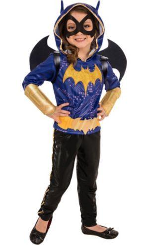 Little Girls Batgirl Costume Dc Super Hero Girls Ship Worldwide