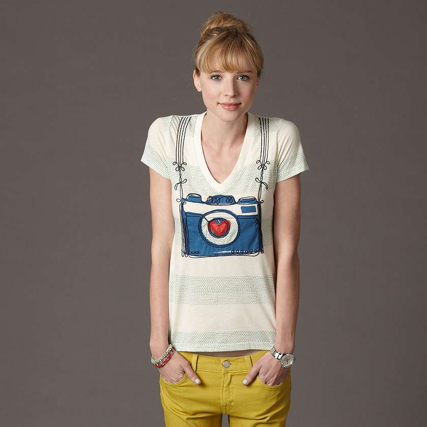 fossil camera tee #photography ( when i am skinny again)