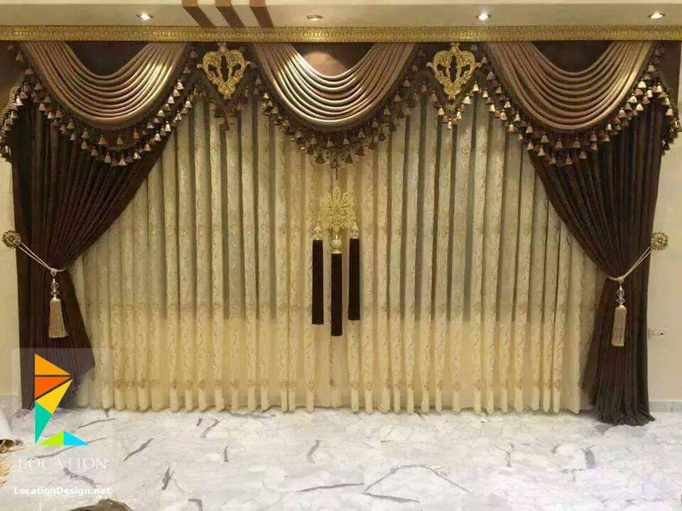 كتالوج ستائر صالونات وانتريهات من اشيك الستائر للريسبشن Home Decor Curtains Home