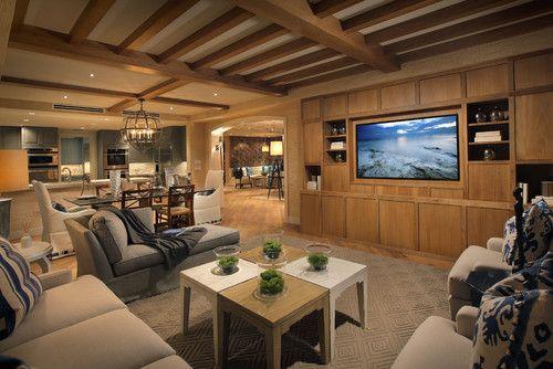 Fresh Basement Tv Room