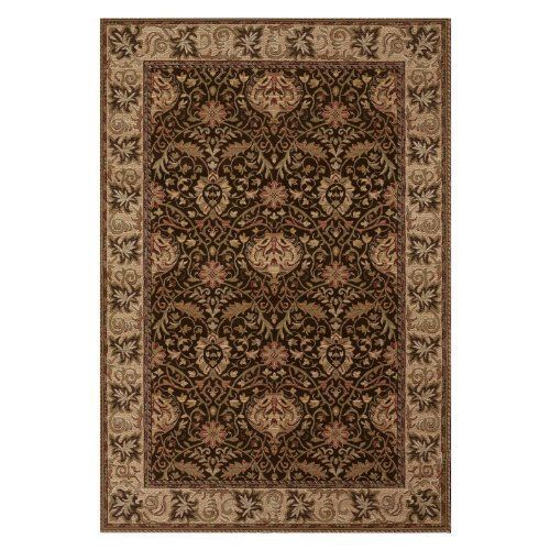 Couristan Rugs Everest Herati Palm Area Rug By Couristan Inc 984 99 Collection Everest Powerloomed Color Chocolate R Colorful Rugs Rugs Wool Area Rugs