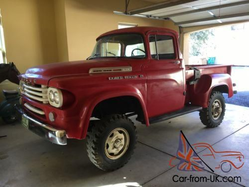 1958 dodge power wagon power giant dodge power wagons 2 rh pinterest com