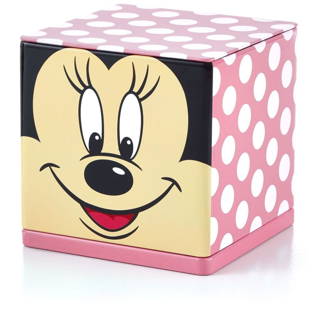New Hallmark CUBEEZ Minnie Mouse Container - Disney - Mickey Mouse ...