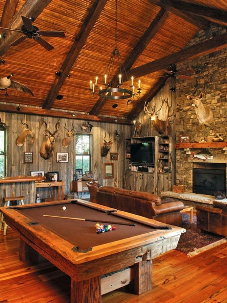 So You Have Always Wanted To Build A Rustic Dream Home Perhaps Out In The Wilderness Somewhere Or You Just Want Rustic Man Cave Man Cave Room Best Man Caves