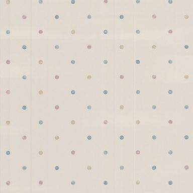 Pastels Dotty Wallpaper