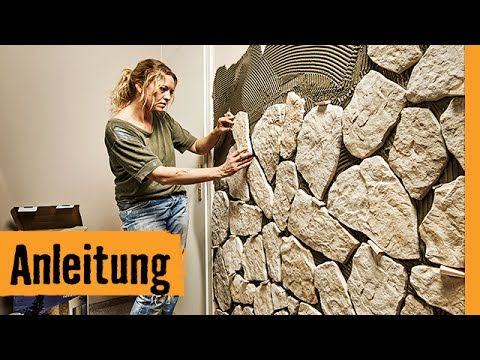 Youtube Verblender Steine Rustikale Wandkunst