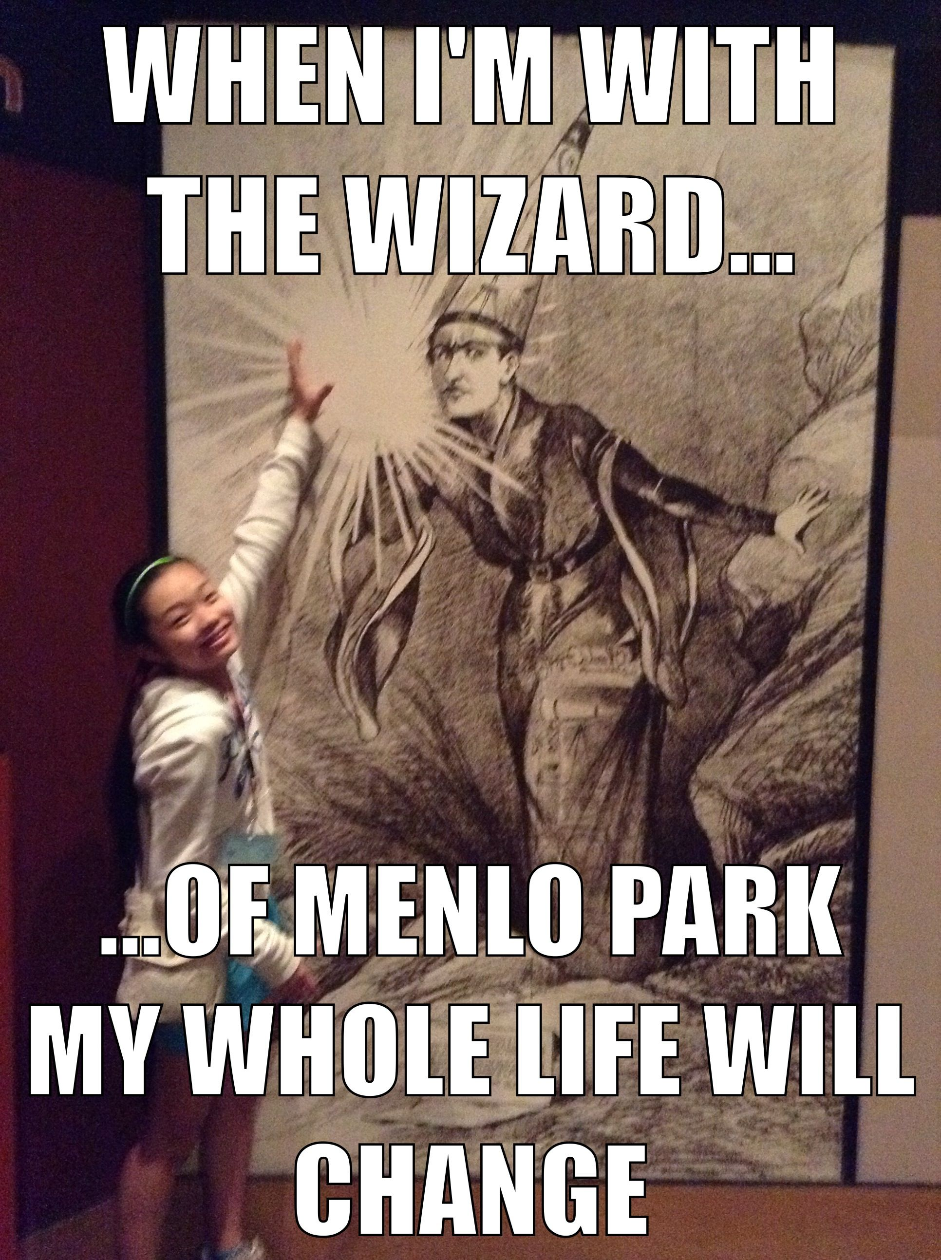 who is known as the wizard of menlo park