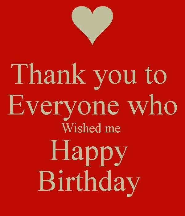 Thank you for all birthday wishes happy birthday pinterest thank you for all birthday wishes m4hsunfo
