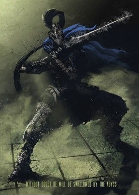 dark souls artorias knight rpg role playing games demon abyss rh pinterest ca