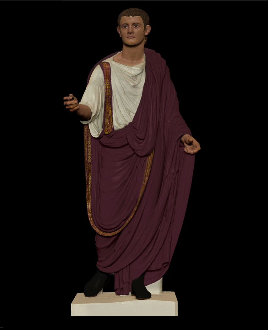 Ancient Roman Clothing For Men: Toga---->( Pulla, Picta) Week 4