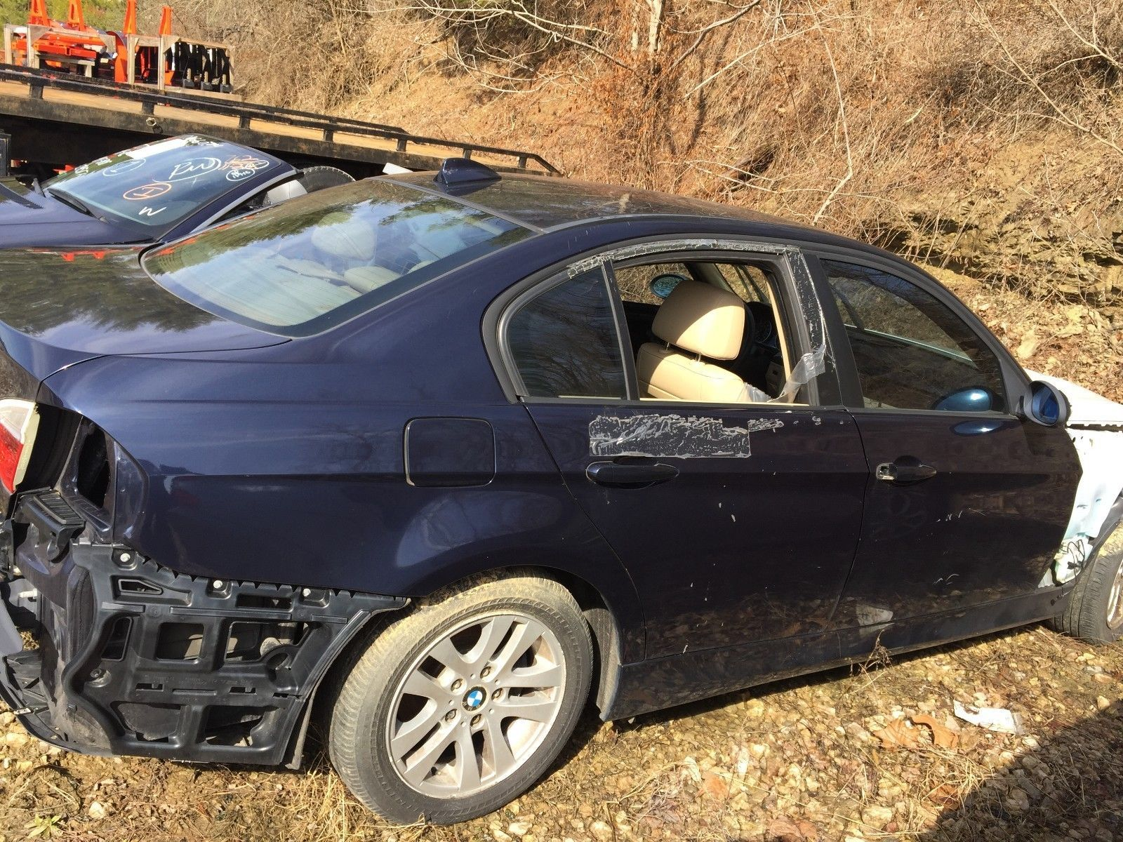 eBay 2007 BMW 3 Series 2007 BMW 328i Salvage For Parts NO RESERVE