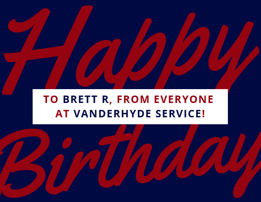 We Would Like To Wish Brett A Very Happy Birthday Birthday