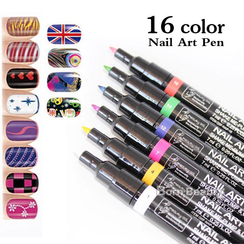 5pcs New Candy Color 3d Nail Art Penhot Pro Polish Painting Dot