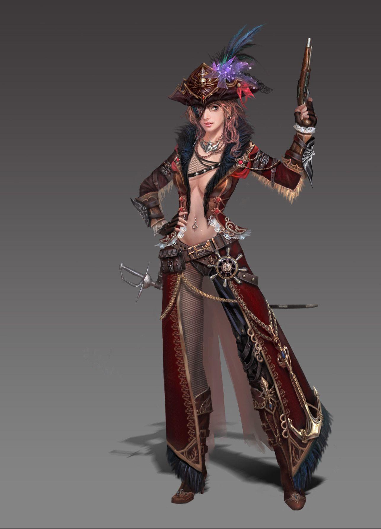 Artstation pirate贰零壹贰 ares 瞋嘉燚 pirate art