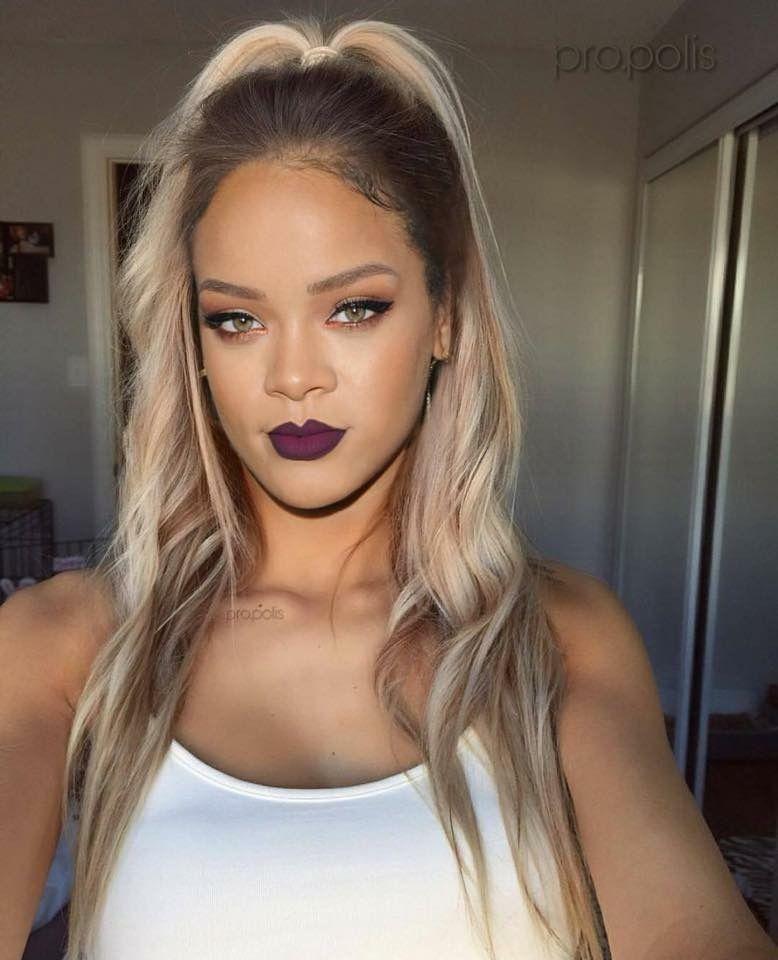 Rhi Rhi Baaaddd Rihanna Hairstyles Rihanna Blonde Hair Rihanna