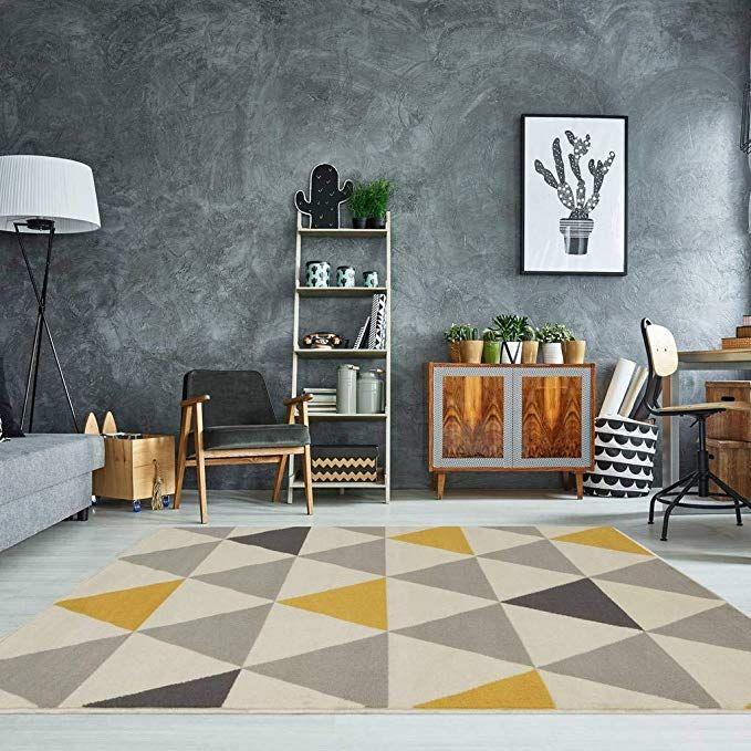 The Rug House Milan Tappeto con motivo a Triangoli ...