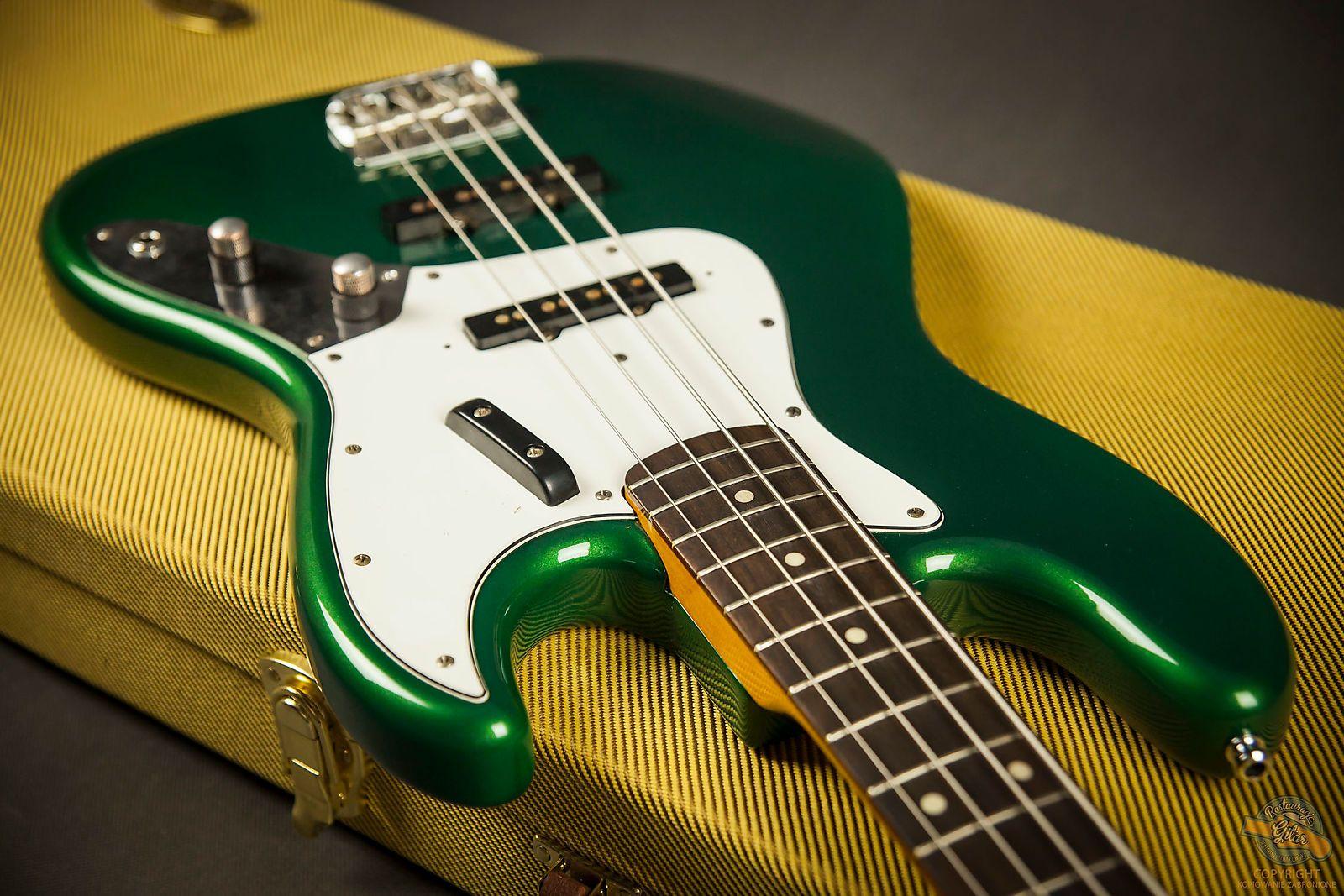 Fender custom 61 jazz bass closet classic 1993 candy