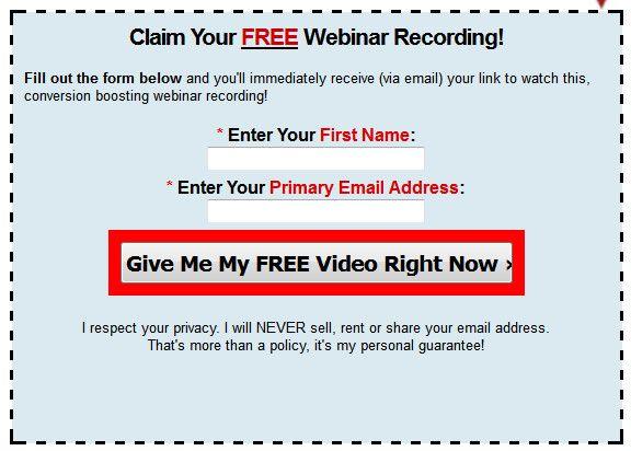 Webinar replays are video recordings Webinars Live, Encore