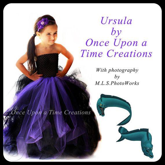 Mermaid Princess Tutu Dress 6 12 Months 2T 3T 4T 5T 6 7 8 10 Halloween Costume