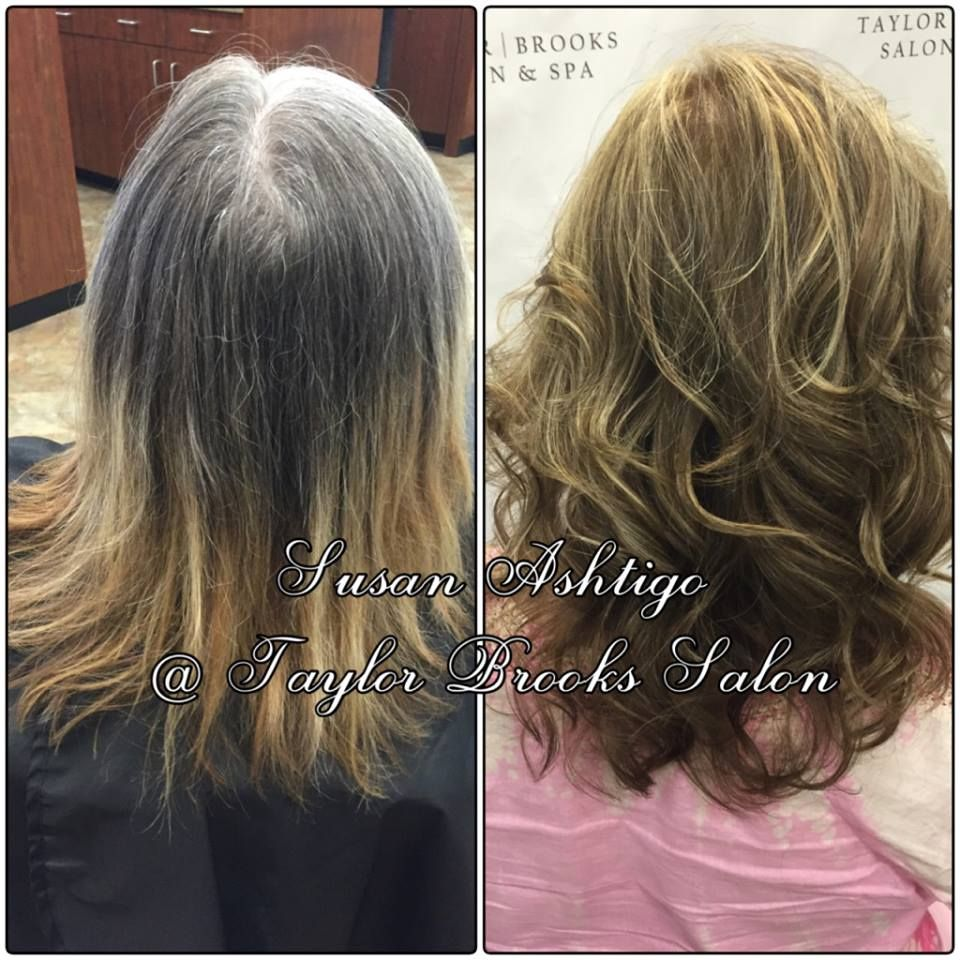 Susanus new guest deloris was thrilled with her hair color