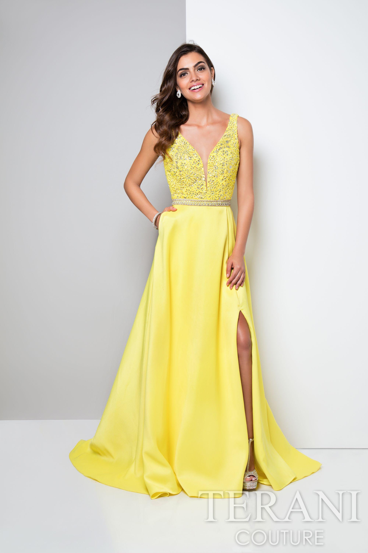 Terani Couture 1713P2541 -Shop more designer prom and evening ...