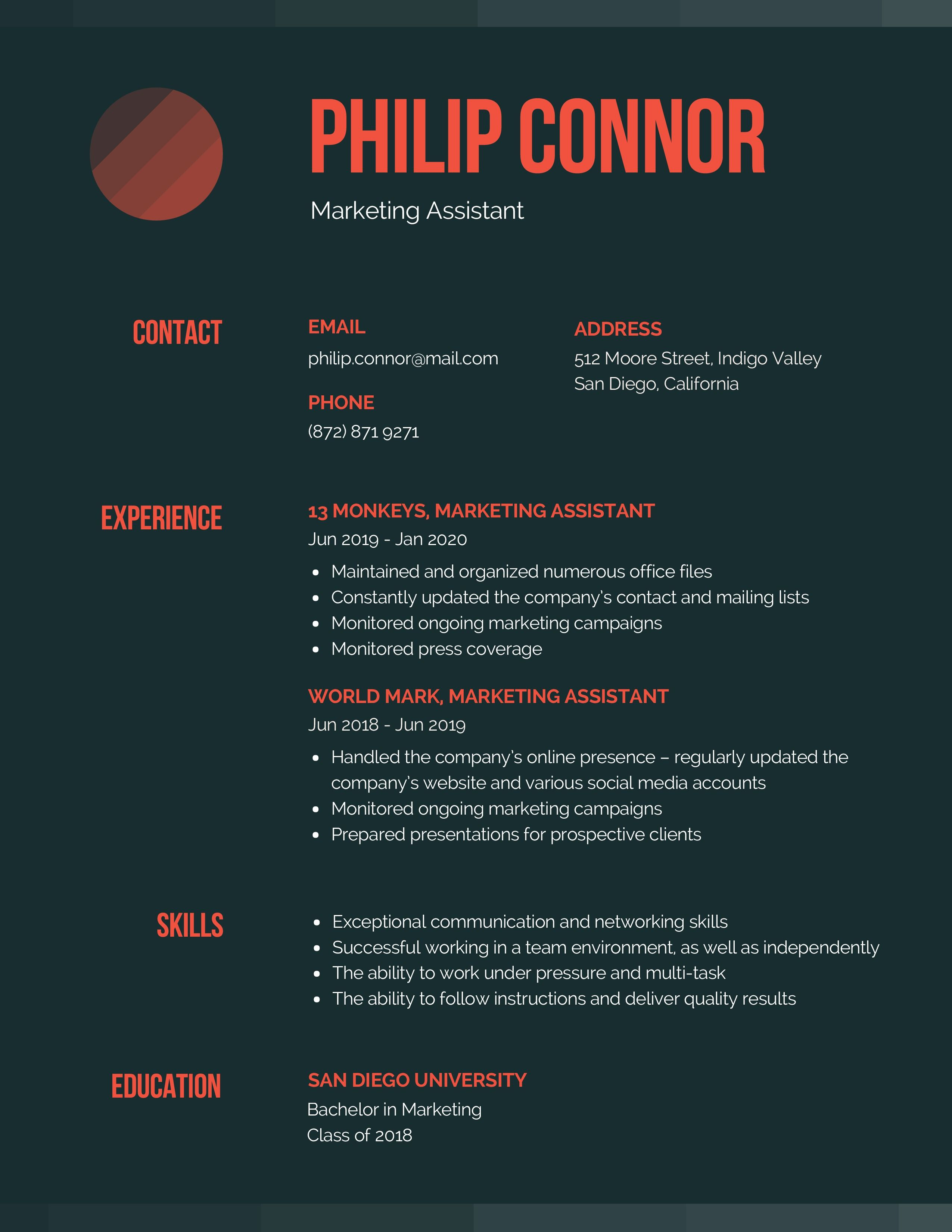Uplevel Your Resumes Simple resume template, Resume