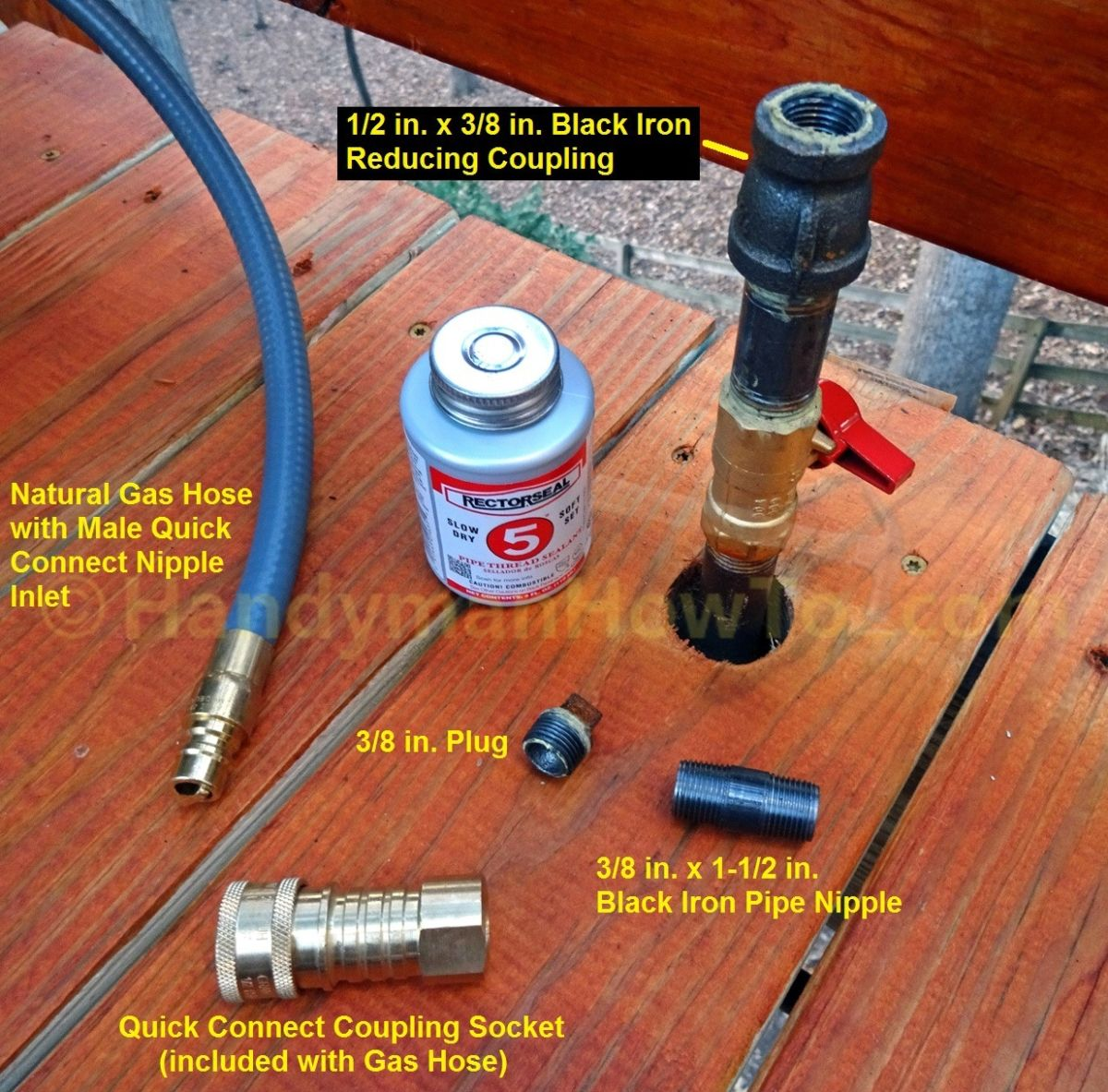 How To Install A Natural Gas Shutoff Valve For A Grill Part 2 Natural Gas Grill Best Portable Grill Gas