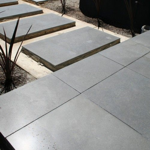 A Durable Beautiful Finish Large Format Basalt Pieces For External Use Outdoor Tiles Large Concrete Pavers Patio Tiles