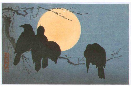 Ogata Korin, woodblock
