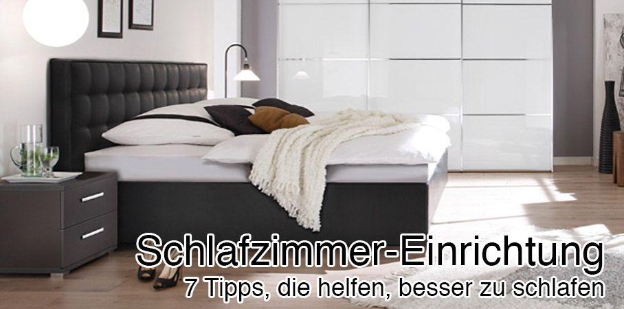 Schlafzimmer einrichten Tipps & Tricks um besser zu