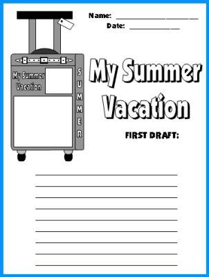 Summer Writing Assignment?