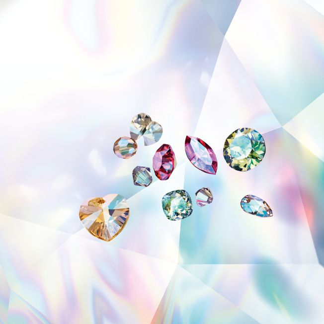 4e2af7e3e New Swarovski Crystal Effect SHIMMER for Beads, Pendants, Fancy Stones,  Round Stones and more