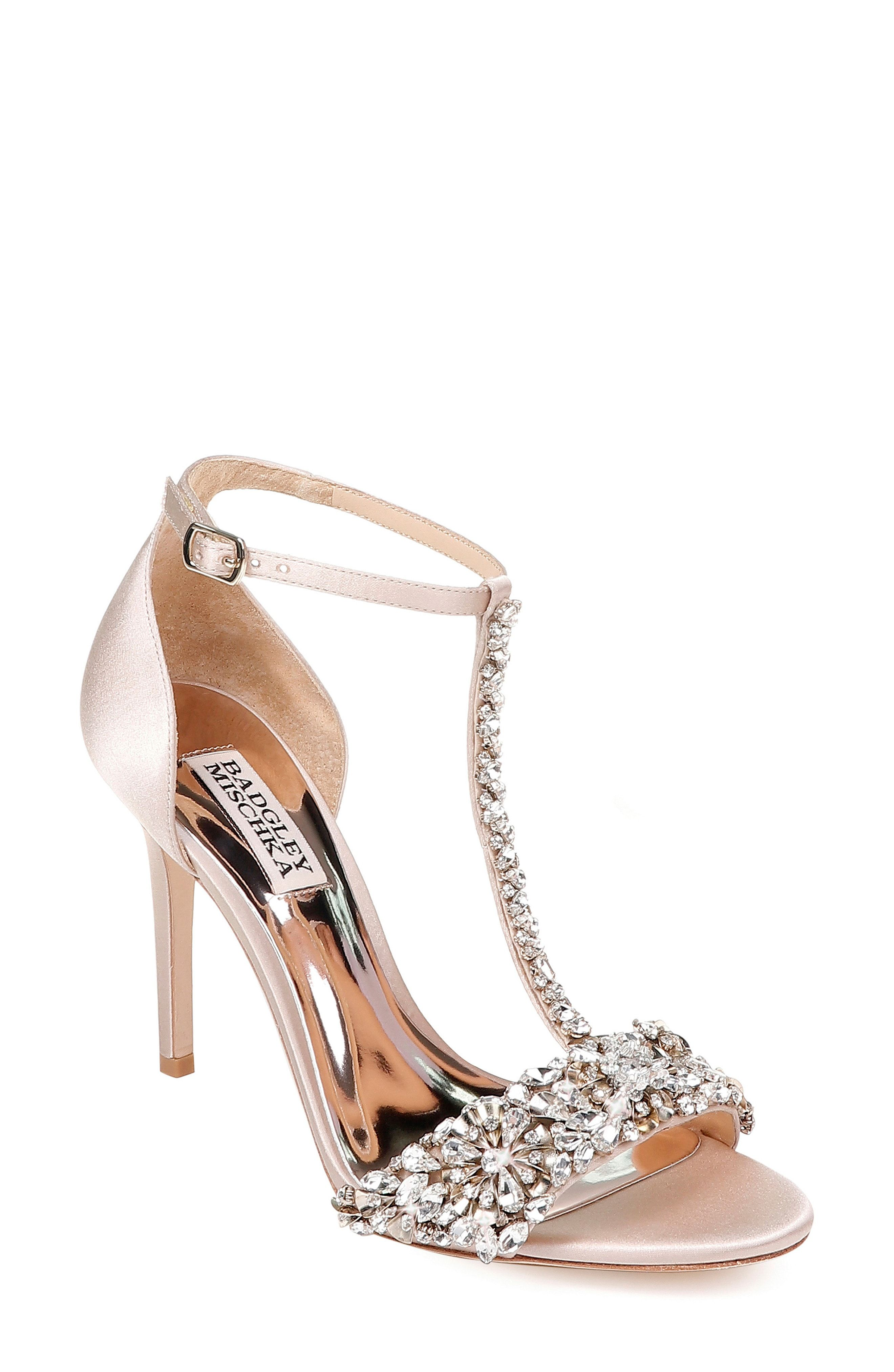 00cfb1db305e Badgley Mischka Crystal Embellished Sandal (Women)