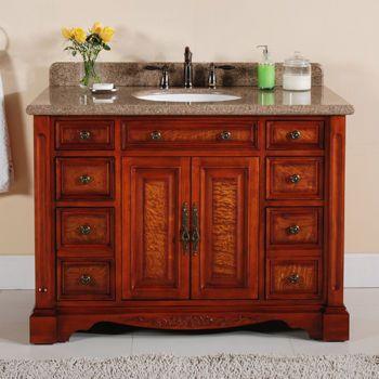 Costco 48 Single Sink Vanity With Backsplash Diy Bathroom Vanity Bathroom Vanity Style Diy Vanity
