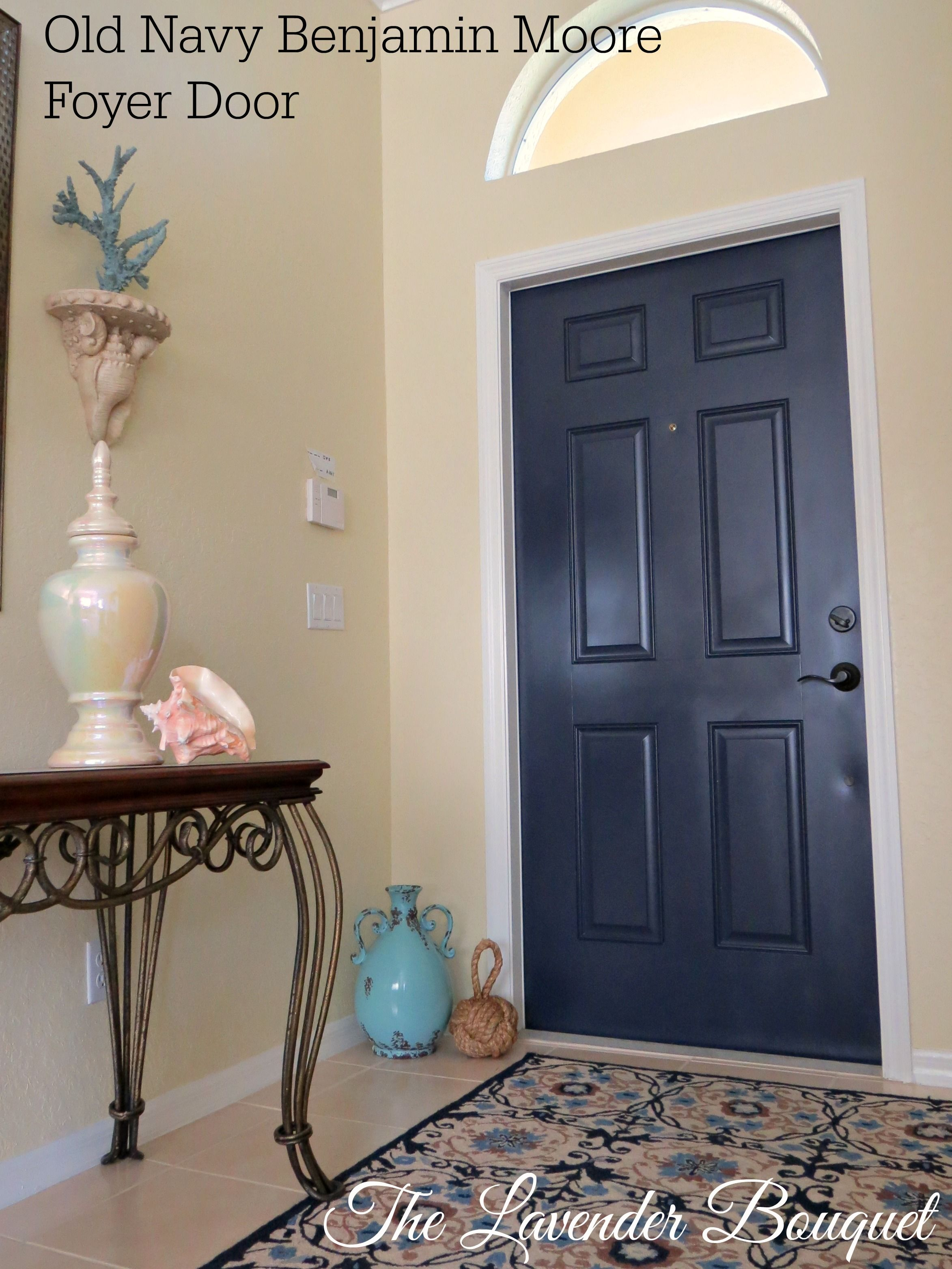 Just A Quick Change In Our Vacation Home Front Door Color. Painted Benjamin  Moore OLD