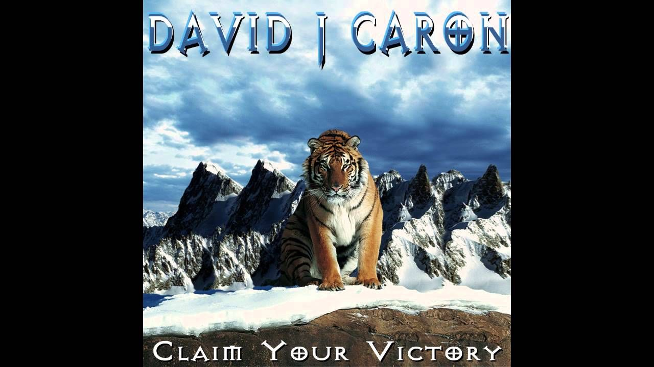 "New Single March 2013 ""Claim Your Victory"" by Nr.1 in Reverbnation Rock Chart for Ireland David J Caron http://www.davidjcaron.com"