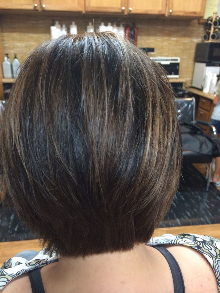 Tapered Bob Classic Short Hair With Layers Thick Hair