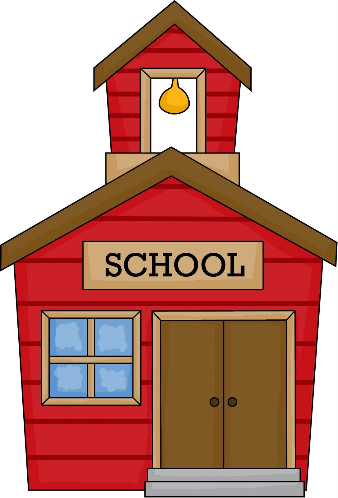 animated welcome back to school clipart clip art 6 teachers and rh pinterest com school house clipart free school house clip art pictures