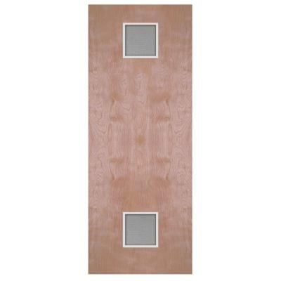 Masonite Smooth Flush Hardwood Solid Core Birch Veneer Composite Interior Door Slab With Vents 74513 The Home Doors Interior Masonite Interior Doors Masonite