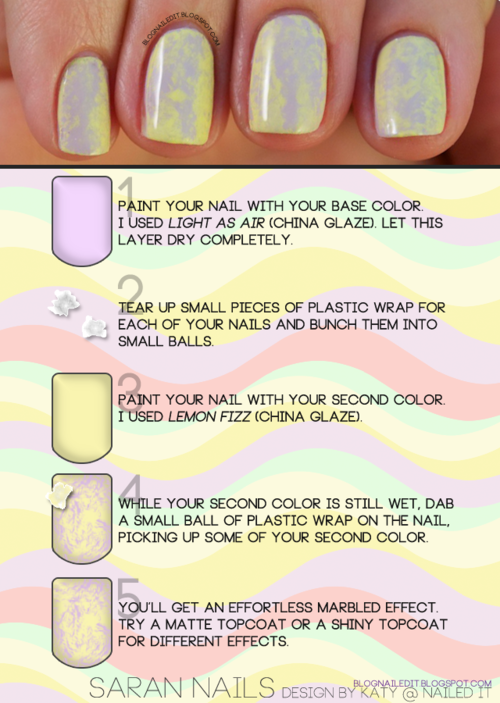 easy marbled effect. Must share with Ellie... | Hair/Makeup ...