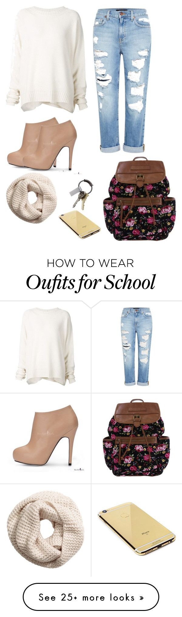 """""""School outfit for Tuesday"""" by dopelilstylist12 on Polyvore featuring URBAN ZEN…"""